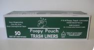 Poopy Pouch 13 Gallon Trash Liners (Box of 50)