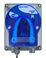 Knight KMP-AD, Mini-Pro detergent pump, analog setting,.7 to 4.1 oz/min, 20-240 VAC