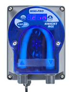 Knight Mini-Pro KMP-DR rinse pump, digital push button setting, .1 to .6 oz/min 20-240 VAC