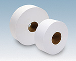 "9"" Junior Jumbo Toilet Paper - 1 Ply, 3.4"" core"