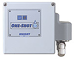 Knight One-Shot OS-100SXT 1 Product Solid Dispenser with External Transformer