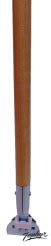 "ZEP 09063 54"" x 15/16"" - Wood Lacquered Dust Mop Handle, Case of 12"