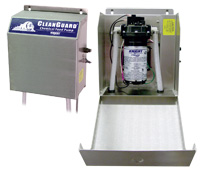 Knight CT Tunnel Express CleanGuard electric diaphragm pump, .7 gpm (2.2 lpm), EPDM seals, 110 VAC in stainless steel case