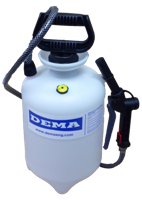 DEMA Portable Pump Up Foaming Dispenser, 2 Gallon Capacity