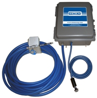 DEMA Wall Mounted Concentrate Compressed Air Foamer System with Hose and Wand