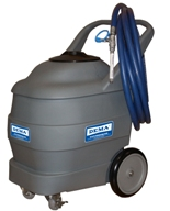 DEMA 925N, 25 Gallon Portable Air Driven Foaming System, Includes Hose and Wand, Plastic Cart