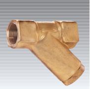 """DEMA Y-Type Line Brass Strainer, 3/4"""" NPT Pipe Size"""