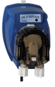 DEMA Olympian Mini Pump, Sanitizer Application, Dual Voltage, Blue, 110/220 volt