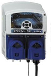 DEMA Titan II EP Warewash Dispenser, Dry Detergent, Liquid Rinse