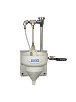 DEMA Viking bowl with ball valve and plastic siphon breaker