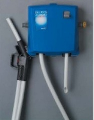 DEMA 1 GPM Dual Station Dispenser with Dual 1 Gallon Enclosures