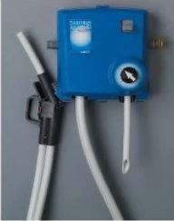 DEMA 1 GPM dial & 4 GPM Remote Fill Single Product Disp. / 4 - 2 Liter Enclosures Air Gap Model