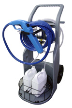 Knight Dial-A-Chem Mobile Cart and accessory kit