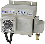 Knight Micro Pro II Dry detergent and liquid rinse control system with solenoid, peristaltic pump, with one transformer, install