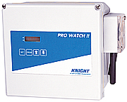 Knight Pro-Watch Microprocessor timer control with external plug-in transformer housed in larger, water-tight plastic enclosure.
