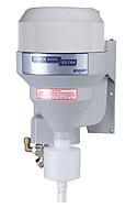 Knight Solid rinse dispenser with plastic vacuum breaker